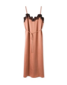 Lace detail Slip On Dress - Witchery
